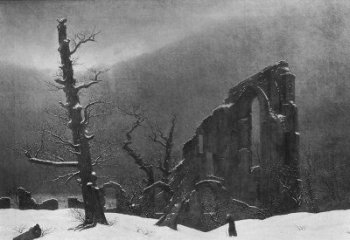 Painting by Caspar Friedrich